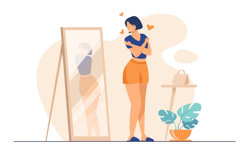amor propio en redes sociales